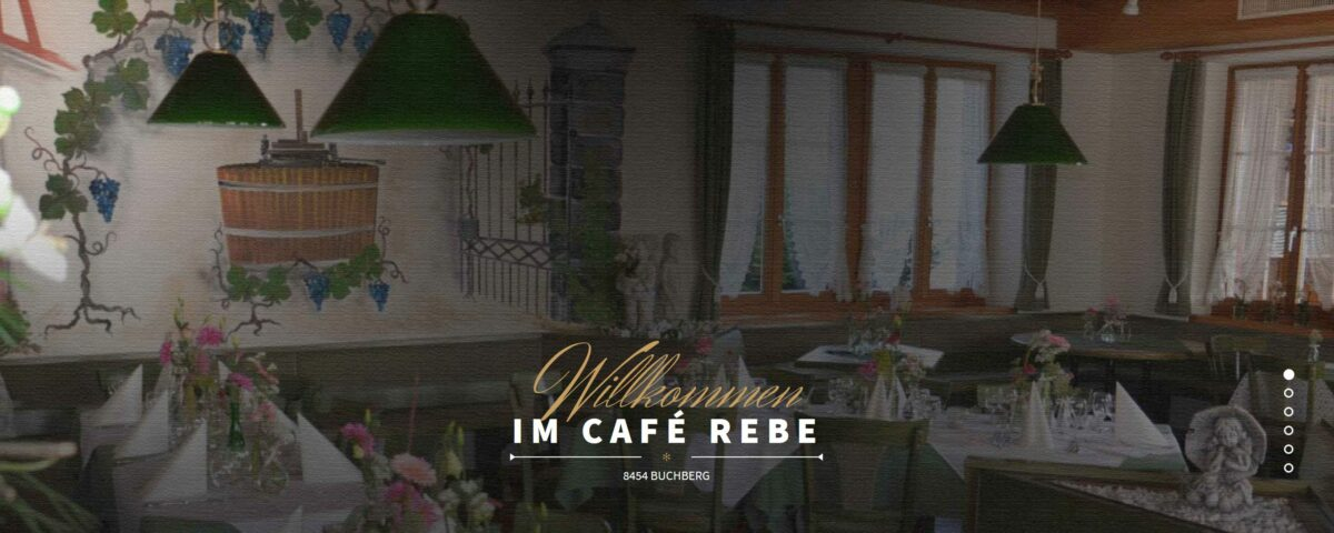 Bild Hompage Café Rebe