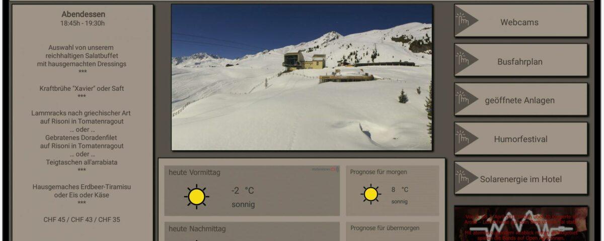 Bild Info Display Hotel Hohe Promenade Arosa