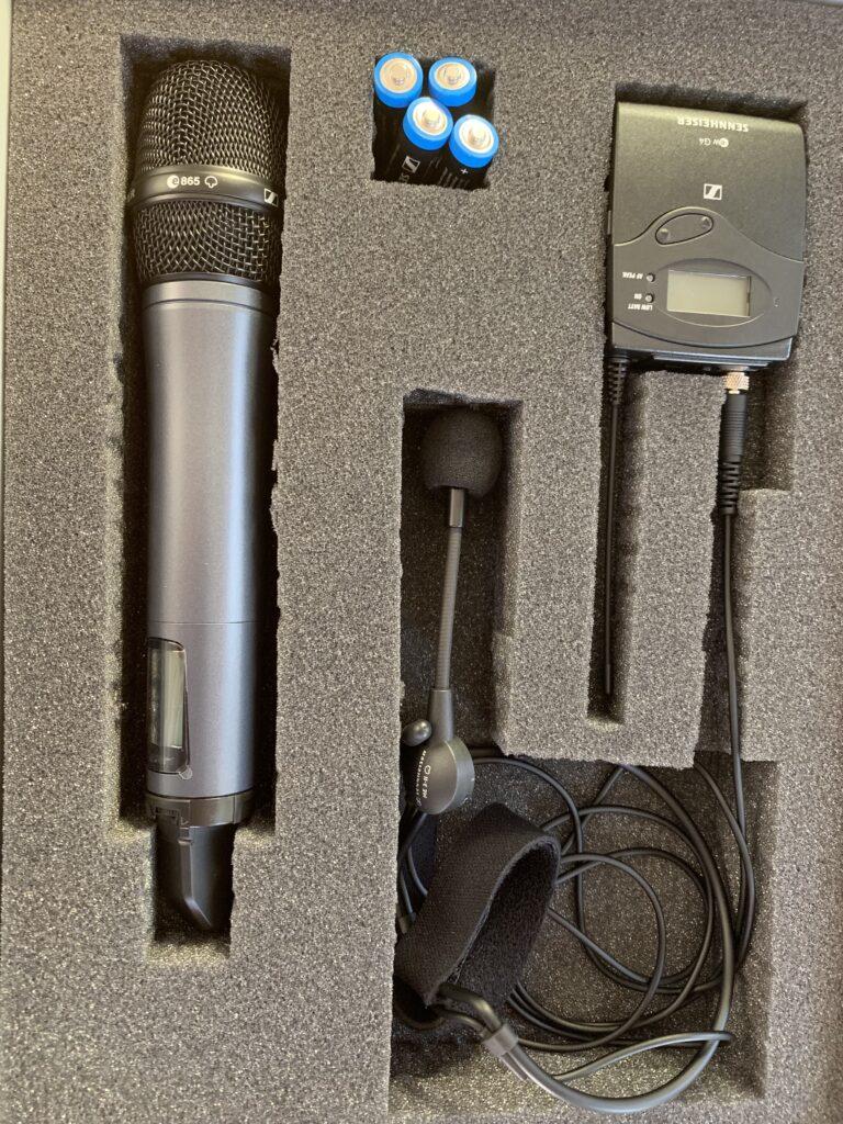 Mikrofon Set Sennheiser